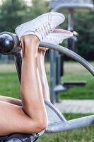 bezerros musculares foto