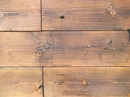 painéis de madeira usados como plano de fundo foto