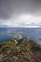 lofoten noruega vista para o mar grupo ilha 17
