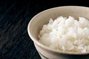 arroz asiático. foto