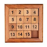 quinze quebra-cabeça foto