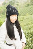 menina asiática foto