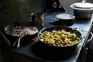 cozinha mexicana tradicional foto