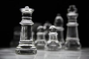 peça de xadrez rainha foto