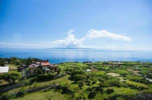 eu olho para o okinawa foto