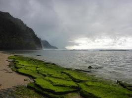 costa napali havaiana foto