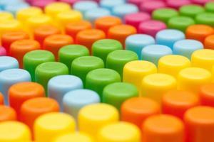 cubos coloridos foto