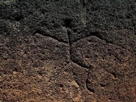 esculpido em pedra foto