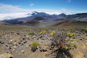 caldeira do vulcão haleakala na ilha de maui