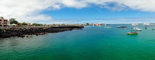 marina em san cristobal galápagos ilhas equador foto