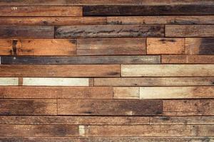 parede de prancha de madeira velha foto