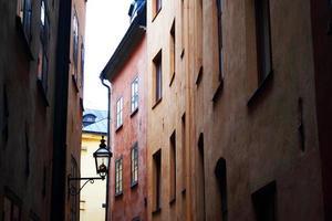edifícios da cidade velha foto