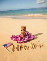 praia do havaí foto