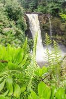 arco-íris cai, ilha grande, havaí