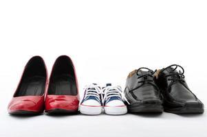 sapatos de família