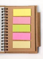 livro em branco papel diário foto