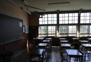Sala de aula foto