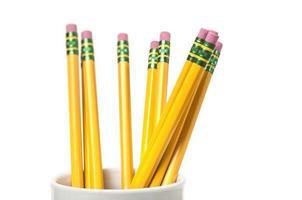 copo de lápis foto