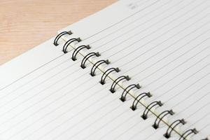 folha de caderno foto