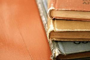 três livros foto