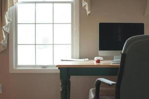espaço de trabalho limpo hipster foto