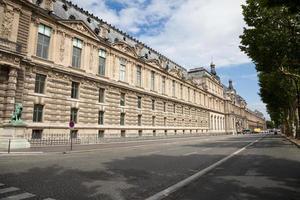 museu do louvre, paris foto