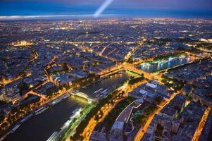 vista sobre paris foto