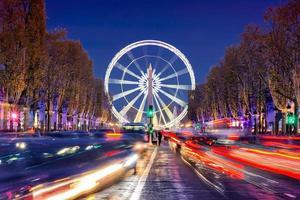 natal em paris foto