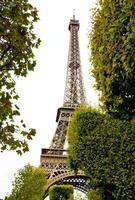 torre eiffel e seus arredores foto