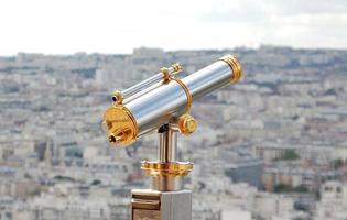 telescópio de turismo