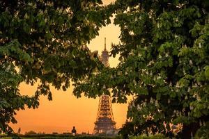 paris - cidade romântica foto