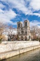 Notre Dame de Paris, França. foto