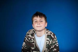 retrato de um adolescente foto