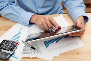 investindo com tablet digital