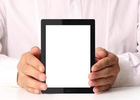 tablet com tela sensível ao toque foto