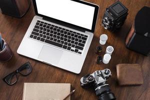área de trabalho foto