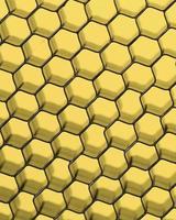 Feche acima da rede preta. luz amarela.