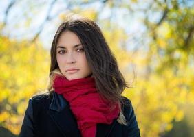 retrato de outono.