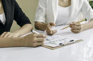 reunião financeira foto