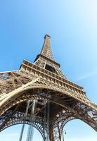 torre eiffel paris verão foto