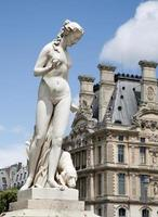 paris - estátua de venus do jardim das Tulherias foto