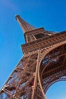 a torre eiffel, paris, frança foto