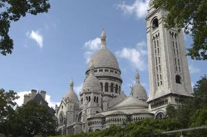 Sacre Coeur em Paris foto