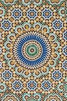 detalhe do chão mesquita paris foto