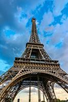 torre eiffel, paris, frança foto