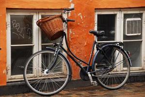 bicicleta em copenhague foto