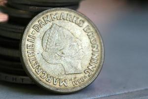 moeda da dinamarca foto