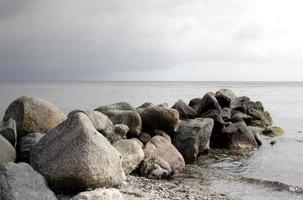 Dinamarca na praia foto