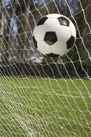 futebol de couro foto
