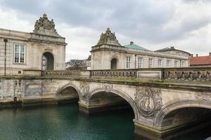 a ponte de mármore, copenhaga foto